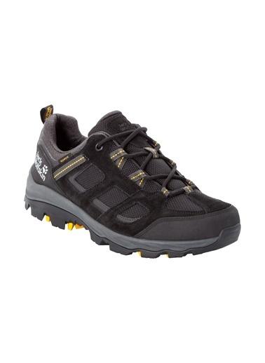 Jack Wolfskin Vojo 3 Texapore Erkek Outdoor Ayakkabı Black-Burly Yellow Siyah